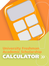 University Freshman Academic Scholarship Calculator